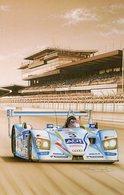 Audi R8 - 24 Heures Du Mans 2005 - Pilotes:Lehto/Kristensen -  Tableau De Francois Bruere (Art Card)  -  CPM - Le Mans