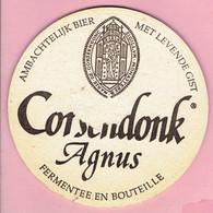 Bierviltje - Corsendonk Agnus - Kerstmarkt Warande Turnhout 1996 - Sous-bocks