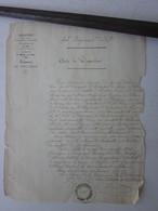 GUERRE DE 1870 - ACTE DE DISPARITION SOLDAT DU 43EME RI - 1914-18