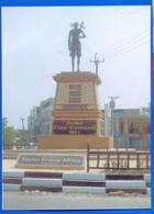 Südsudan SOUTH SUDAN Postcard Statue Of Jubek In Juba, Mint, Locally Published Soudan Du Sud #5 - Soudan