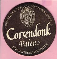 Bierviltje - Corsendonk Pater - Welkom In Het Station Van Turnhout - 1996 - Sous-bocks