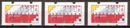 1993 Automaatstroken Voor ATM Klussendorf-automaat 50c, 210c, 280c MNH/**/Postfris - Paesi Bassi