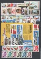 Mauritius , Guinea , Steckkarte Mit Postfrischen Marken - Mauritius (1968-...)