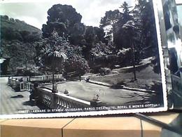 CASTELLAMMARE DI STABIA -NAPOLI -ALBERGO REALE ROYAL QUISISANA IL PARCO MONTE COPPOLA VB1941 HA8046 - Castellammare Di Stabia