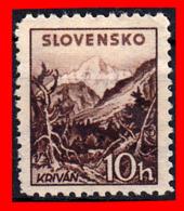 ESLOVAQUIA SELLO AÑO 1940 -1943 PAISAJES - Nuevos