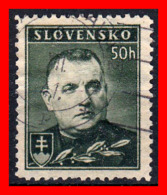 ESLOVAQUIA SELLO AÑO 1939 -1942 PRESIDENTE JOSEF TISO, 1887-1947 - Nuevos
