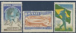 Brasil - Mundiales 1950 - 484 + A-64/65 - Nuevo - Fußball-Weltmeisterschaft