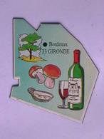 Magnet Le Gaulois DEPARTEMENT FRANCE 33 Gironde - Magnets