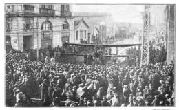 WW1 14-18 Biplan Allemand Exposé Dans Les Rues De SALONIQUE  1916 - 1914-18