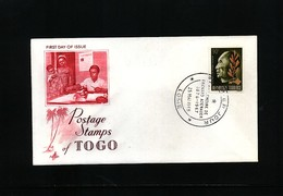 Togo 1968 Konrad Adenauer FDC - Europäischer Gedanke