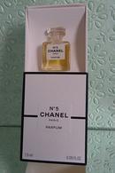 """Miniature """"N°5"""" De CHANEL   Parfum 1,5 Ml Dans Sa Boite - Miniatures Modernes (à Partir De 1961)"""