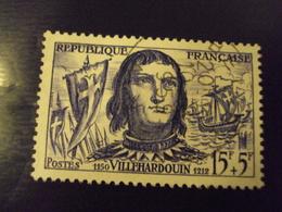 """A Partir De 1945 - Timbre Oblitéré N°  1207    """"  Villehardouin     """"     1  Euro - France"""