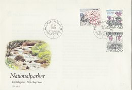 SWEDEN 1990 FDC With Swans + Other Animals.BARGAIN.!! - Cygnes