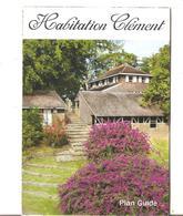 RHUM CLEMENT HABITATION PLAN GUIDE VISITE DU DOMAINE - Autres Collections
