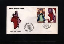 Cameroun 1965 Europe - Africa Economic Cooperation FDC - Europäischer Gedanke