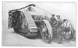 WW1 14-18 Tank   1916 - 1914-18