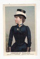 Chromo  CHOCOLAT POULAIN    Portrait De Femme - Poulain