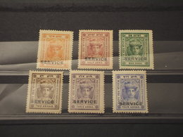 HOLKAR - SERVIZIO - 1904/8 MARAJA 6 VALORI - NUOVI(+) - Holkar