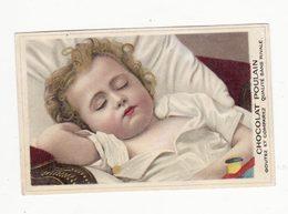 Chromo  CHOCOLAT POULAIN    Enfant Qui Dort - Poulain
