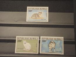 MALI - 1986 GATTI 3 VALORI - NUOVI(++) - Mali (1959-...)