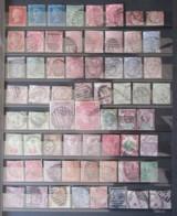 Grande-Bretagne - Collection De 86 Timbres Types Victoria Et George V Dont Forte Cote N°86 / 87 - Oblitérés - Grande-Bretagne