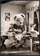 C2934 - TOP - Teddi Teddy - Steiff ?? - Glückwunschkarte - Reichenbach DDR - Spielzeug & Spiele