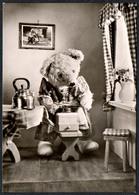 C2935 - TOP - Teddi Teddy - Steiff ?? - Glückwunschkarte - Reichenbach DDR - Spielzeug & Spiele