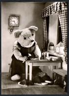 C2937 - TOP - Teddi Teddy - Steiff ?? - Glückwunschkarte - Reichenbach DDR - Spielzeug & Spiele