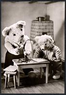 C2938 - TOP - Teddi Teddy - Steiff ?? - Glückwunschkarte - Reichenbach DDR - Spielzeug & Spiele