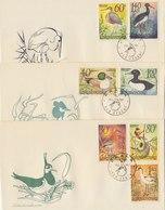 CZECHOSLOVAKIA 1967 FDC (3) With Birds.BARGAIN.!! - Oiseaux