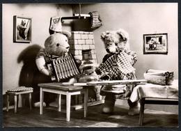 C2939 - TOP - Teddi Teddy - Steiff ?? - Glückwunschkarte - Reichenbach DDR - Spielzeug & Spiele