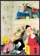 C2941 - TOP - Teddi Teddy - Steiff ?? - Glückwunschkarte - Reichenbach DDR - Spielzeug & Spiele