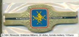 Vitolas Ritmeester. Emblemas Militares. FM. Ref. 14-1464 - Bagues De Cigares