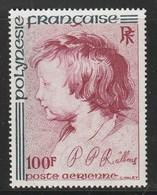 POLYNESIE - Poste Aérienne - PA N° 129 ** (1977) P.P Rubens - Poste Aérienne