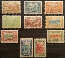 Lot De 10 Vignettes Anciennes - Autriche CARINTHIE  KÄRNTEN  Volksabstimmung 1920 /Reklamemarke /V2 - Erinnophilie
