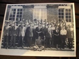 ( 1 ) RARE PHOTO - UCL UNIVERSITE CATHOLIQUE LOUVAIN LEUVEN - LA BORAINE ( MONS BORINAGE ) - 1954 - Lieux