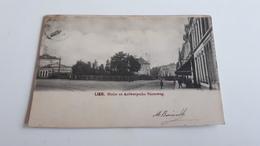* LIER Statie En Antwerpsche Steenweg Oblitéré Début 1900 - Lier