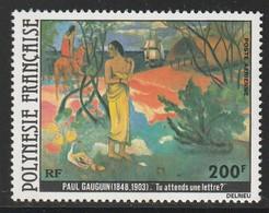 POLYNESIE - Poste Aérienne - PA N° 144 ** (1979) Gauguin - Poste Aérienne