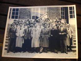 ( 2 ) RARE PHOTO - UCL UNIVERSITE CATHOLIQUE LOUVAIN LEUVEN - LA BORAINE ( MONS BORINAGE ) - 1953 - Lieux