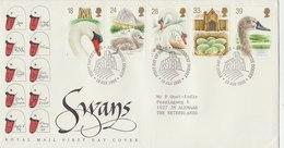 UNITED KINGDOM 1993 FDC With Swan.BARGAIN.!! - Cygnes
