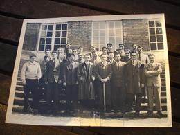 ( 3 ) RARE PHOTO - UCL UNIVERSITE CATHOLIQUE LOUVAIN LEUVEN - LA BORAINE ( MONS BORINAGE ) - 1955 - Lieux