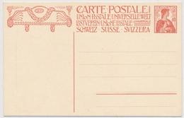 P68 - 1909 - Schweiz - Postkarte 10 Rappen - Unbeschrieben Und Ungelaufen - Entiers Postaux