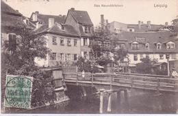 Seltene Alte AK   LEIPZIG / Sachsen  - Das Naundörfchen - Gelaufen 1912 - Leipzig