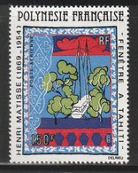 POLYNESIE - Poste Aérienne - PA N° 153 ** (1980) Tableau De Matisse - Poste Aérienne