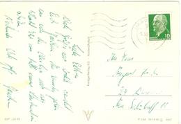 Autograf DDR Fußball Rekord Nationalspieler Joachim Streich Empor Rostock 9.9.1969 Eigenhändige Postkarte An Eltern In W - Football