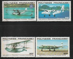POLYNESIE - Poste Aérienne - PA N° 156/9 ** (1980) Avions - Poste Aérienne