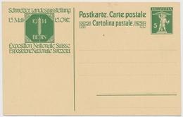 P48 - 1913 - Schweiz - Postkarte 5 Rappen - Unbeschrieben Und Ungelaufen - Entiers Postaux