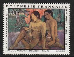 POLYNESIE - Poste Aérienne - PA N° 160 ** (1981) P.Gauguin - Poste Aérienne