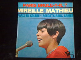 Mireille Mathieu: Paris Brûle-t-il?: Paris En Colère-Soldats Sans Armes/ 45t Barclay 71083 M - Vinyl Records