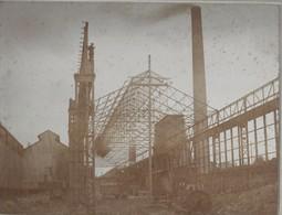 Athus: Photo Sur Carton (Hall En Construction  à L'usine D'Athus) - Très Rare - Photo 220/170 - Aubange